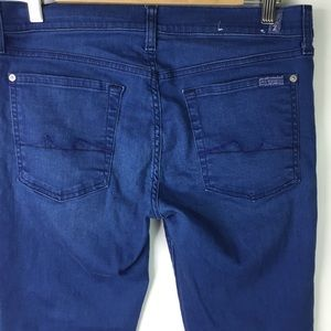 7 For All Mankind Jeans - 7 For all mankind Cropped Gwenevere Jeans